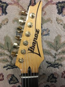 1993 Ibanez head stock