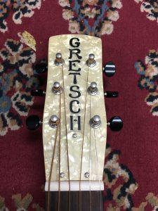 Gretsch G9201 headstock