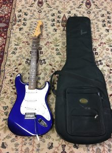 Fender Mexican Stand Strat with bag