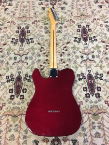 Fender Mexican Standard Telecaster back